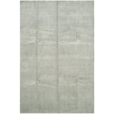 Tyra Hand-Knotted Green Area Rug