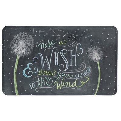 Wilhelmina Make a Wish Graphic Kitchen Mat