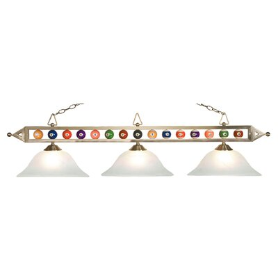 Aileen 3-Light Pool Table Light