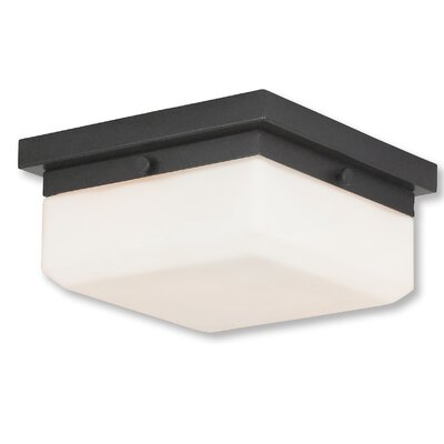 Cara 2-Light Flush Mount Base Finish: English Bronze
