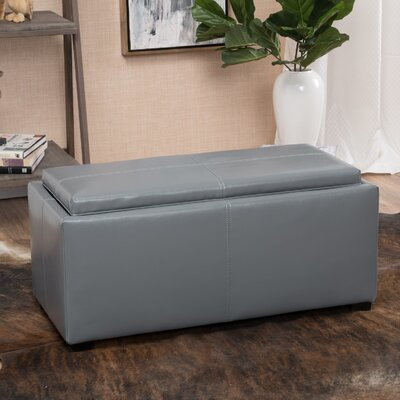 Kegan 3 Piece Lift Top Ottoman Set Upholstery: Grey