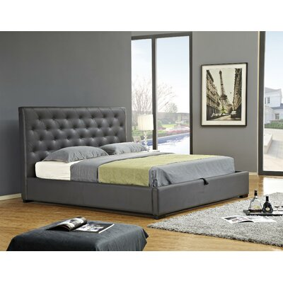 Delaney Upholstered Storage Platform Bed Size: Queen
