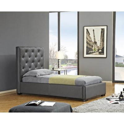 Delaney Upholstered Storage Platform Bed Size: Twin