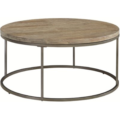 Louisa Round Coffee Table Top Color: Acacia Wood