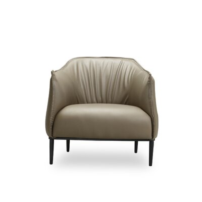 Alfredo Armchair Color: Tan