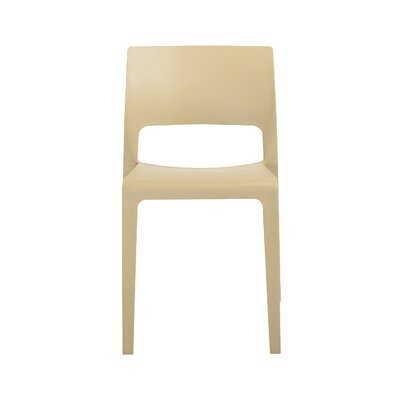Alta Side Chair (Set of 4) Finish: Taupe