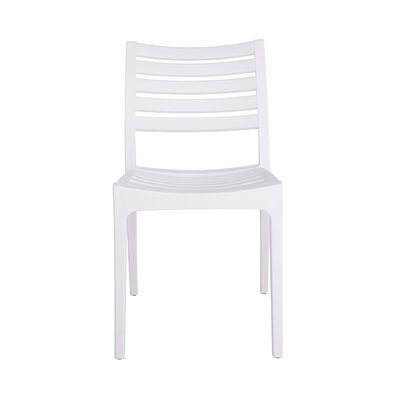 Alton Side Chair (Set of 4) Finish: White