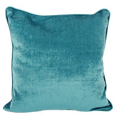 Clarice Throw Pillow Color: Blue