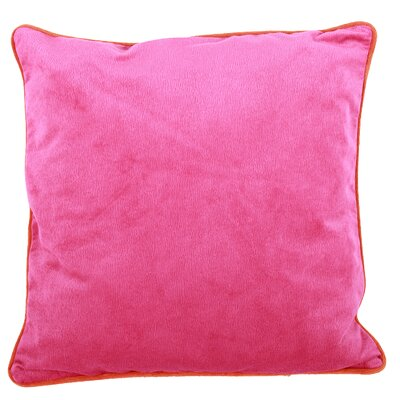 Neal Throw Pillow Color: Pink