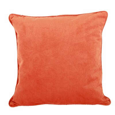 Clarice Throw Pillow Color: Orange