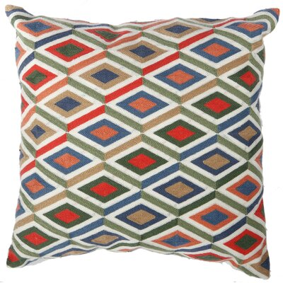 Clarissa Embroidered Throw Pillow