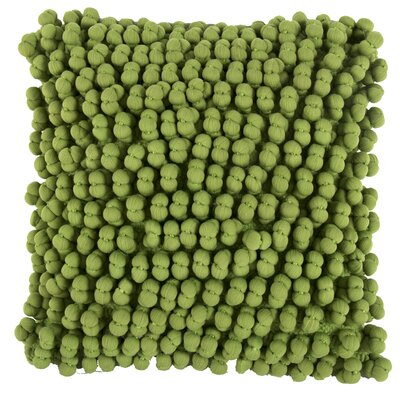 Claudette Throw Pillow Color: Green