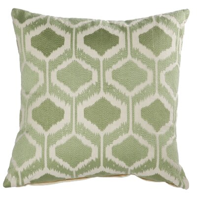 Claudine Embroidered Throw Pillow