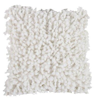Estelle Throw Pillow Color: White