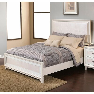 Antoinette Upholstered Platform Bed Size: King