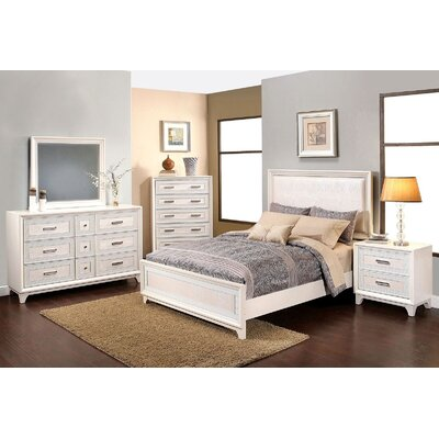 Antoinette Platform 5 Piece Bedroom Set