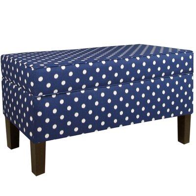 Angelita Fabric Upholstered Storage Bench