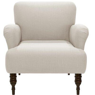 Linnet Armchair Upholstery: Linen Talc