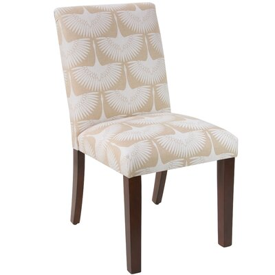 Angelita Parsons chair Upholstery Color: Flock Chalk