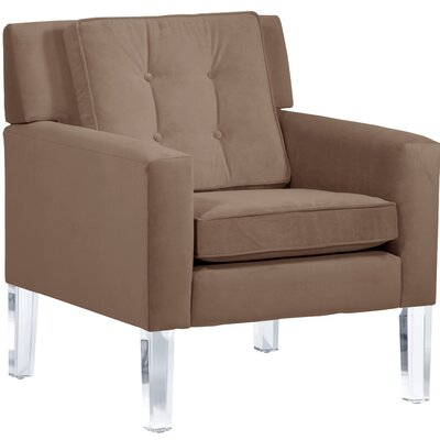 Andy Arm Chair Color: Cocoa