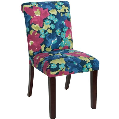 Angelita Side Chair Upholstery: Evanthey Flora Fuchsia