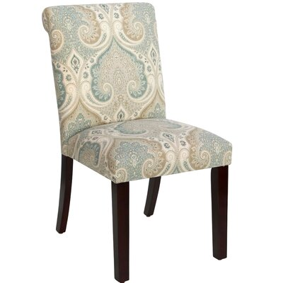 Angelita Side Chair Upholstery: Latika Seafoam