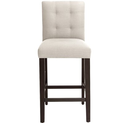 Annmarie 31 inch Bar Stool Upholstery Color: Talc