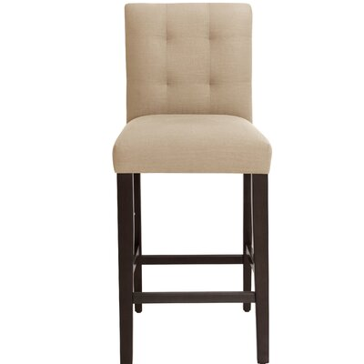 Annmarie 31 Bar Stool Upholstery Color: Sandstone