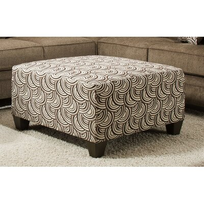 Simmons Upholstery Teri Cocktail Ottoman Upholstery: Basta Pumice