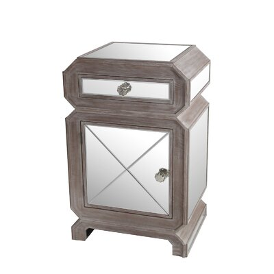 Briana 1 Drawer Nightstand