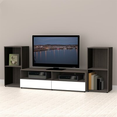 Maryjo 60 Wood Frame TV Stand
