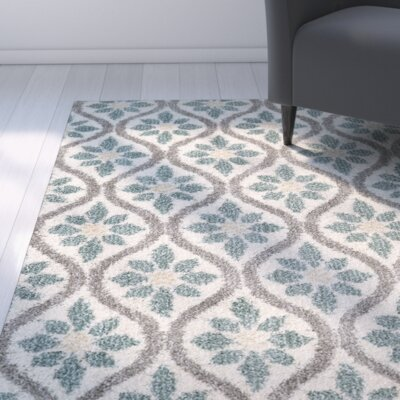 Brano Green Indoor Area Rug Rug Size: Rectangle 8 x 10