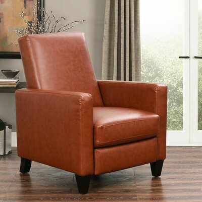 Byron Pushback Recliner Upholstery: Camel