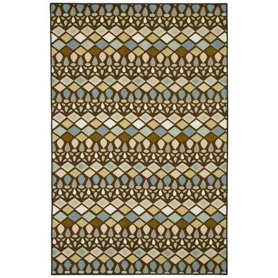 Kenya Green Area Rug Rug Size: Rectangle 5 x 8
