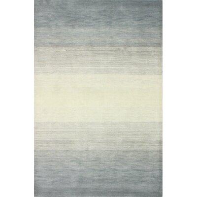 Kimberley Hand-Loomed Slate Area Rug Rug Size: 76 x 96