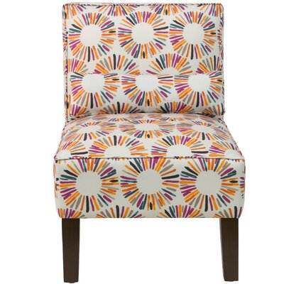 Thurston Slipper Chair Upholstery: Medallion Multi OGA