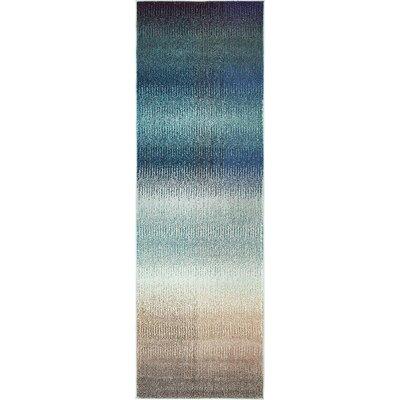 Applecroft Blue Fade Area Rug Rug Size: Rectangle 8 x 11