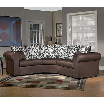 Latitude Run LTRN1103 27726028 Lila Sectional Upholstery