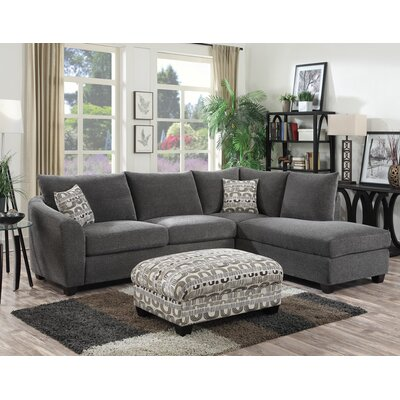 Latitude Run LTRN3141 28623604 Collinsville Chaise  Sectional Upholstery