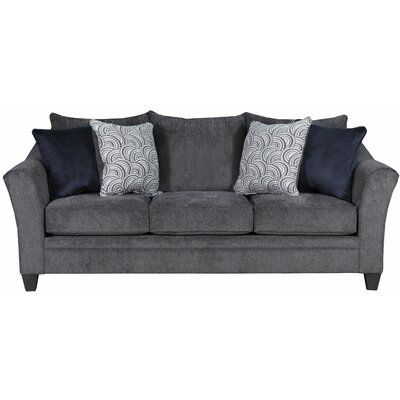 Simmons Upholstery Heath Sleeper Sofa Upholstery: Albany Pewter