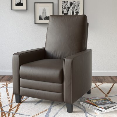 Annarie Manual Recliner Upholstery: Brown LATR4695 33121083
