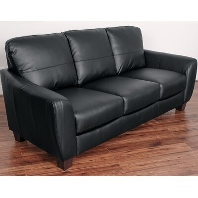 Lacy Sofa Upholstery: Black