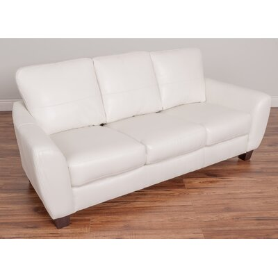 Lacy Sofa Upholstery: White