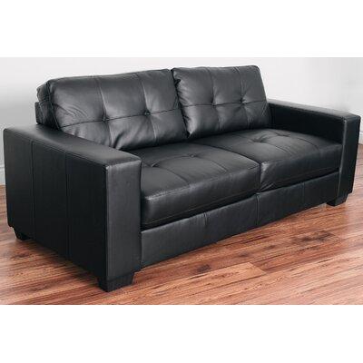 Kaye Sofa Upholstery: Black