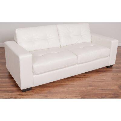 Kaye Sofa Upholstery: White