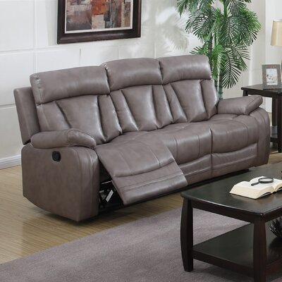 Leanne Bonded Reclining Sofa