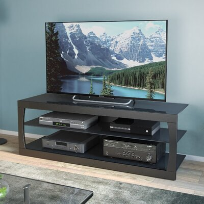 Lenore CorLiving 54 TV Stand Finish: Black