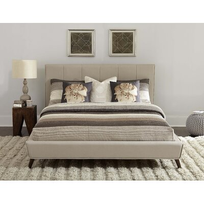 Chad Upholstered Platform Bed Size: King