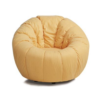 Lara Swivel Papasan Chair Upholstery: Gold