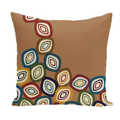 Marion Falling Leaves Geometric Print Throw Pillow